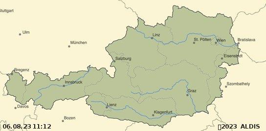 Blitzortung Österreich